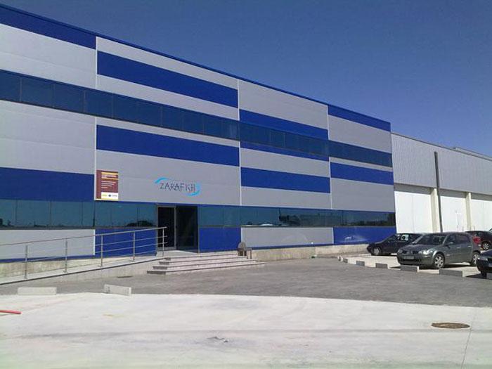 Industria de productos del mar y congelados en Zaragoza (Aragón) y Lleida