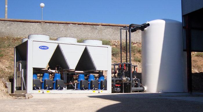 Proyecto de instalaciones frigoríficas para bodegas en Zaragoza (Aragón) y Lleida