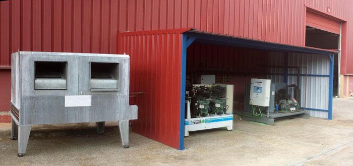 Proyecto de cámaras frigoríficas en Zaragoza (Aragón) y Lleida
