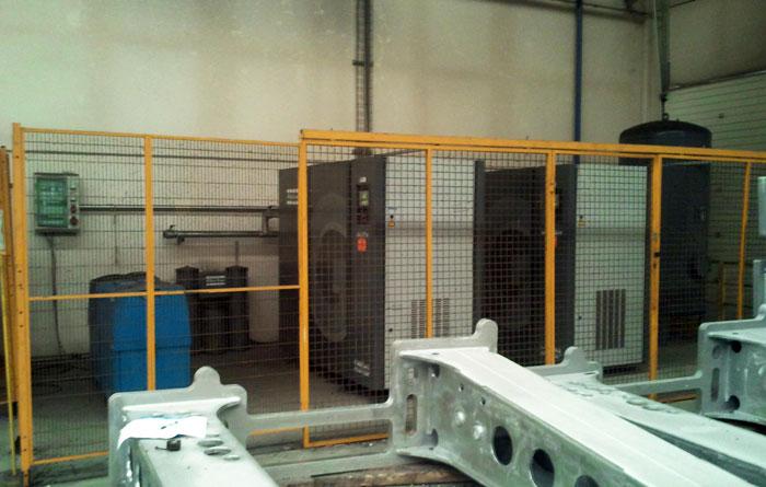 Proyecto de instalaciones neumáticas en Zaragoza (Aragón) y Lleida