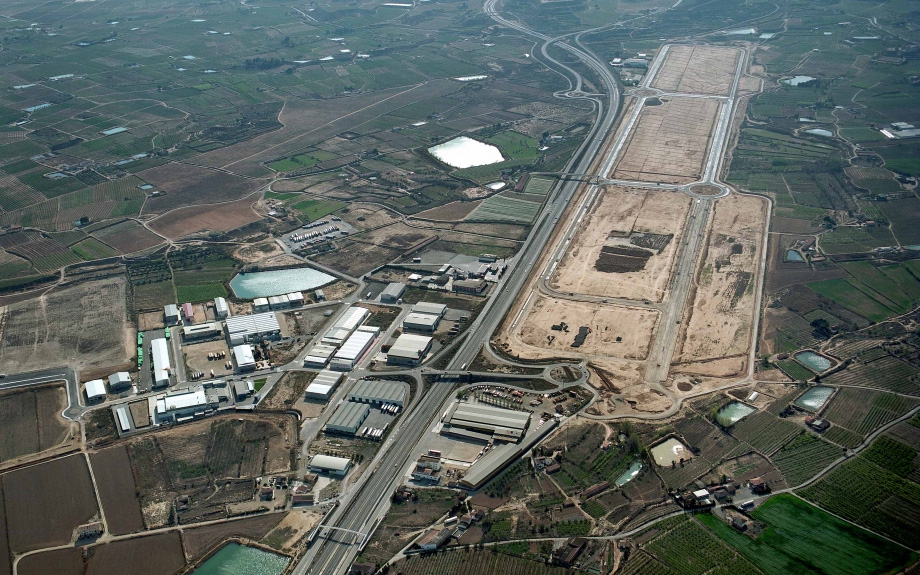polígono industrial Fraga Sariñena Ingenieros Zaragoza