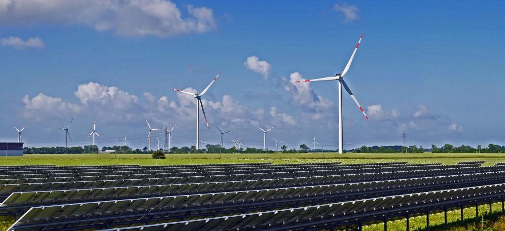 Parque eólico fotovoltaico