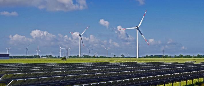 721 millones de inversión para 20 parques fotovoltaicos y eólicos en Aragón